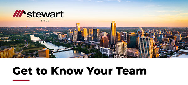 Get to know your team.