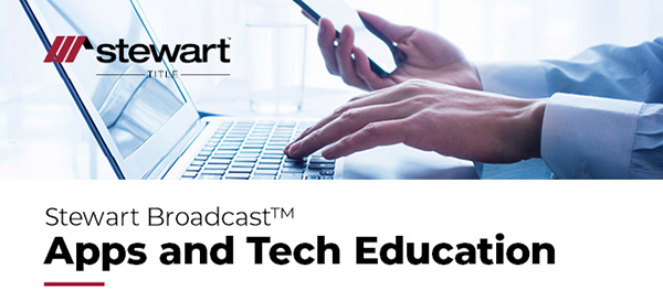 Stewart Broadcast: Apps and Tech