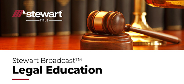 Stewart Broadcast Legal Education