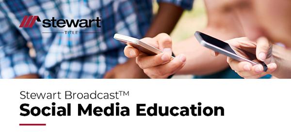 Stewart Broadcast: Social Media Education